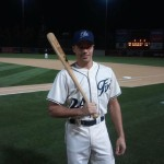 Ethan Stone on set of Baseball Commercial