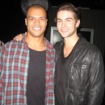 Ethan Stone with Chace Crawford.